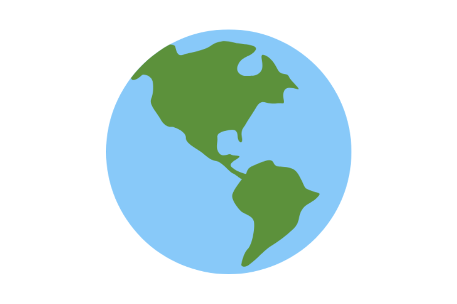 Globe Showing Americas Emoji