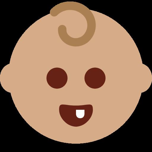 👶🏽 Emoji Baby: Medium Skin Tone