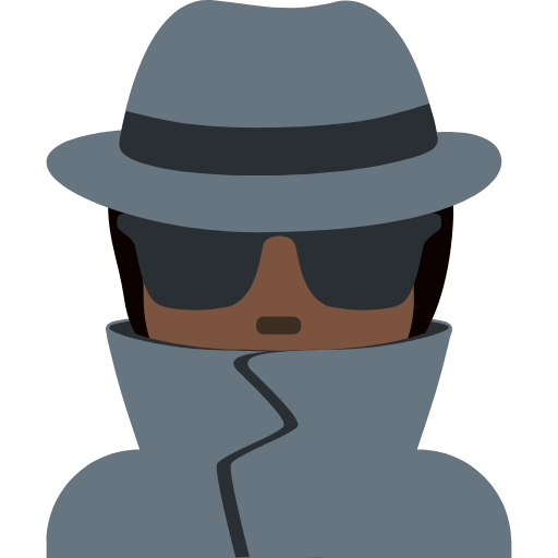 🕵🏿 Emoji Detective: Dark Skin Tone