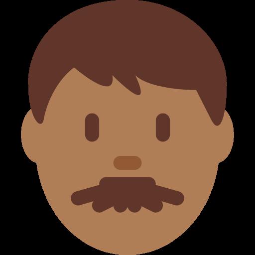 👨🏾 Emoji Man: Medium-Dark Skin Tone