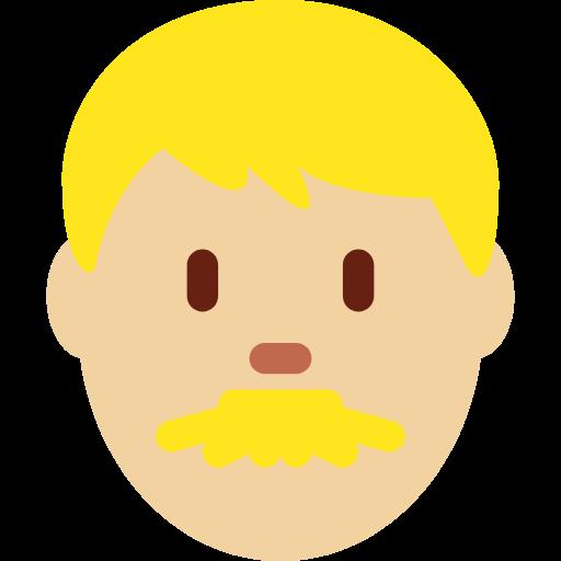 👨🏼 Emoji Man: Medium-Light Skin Tone