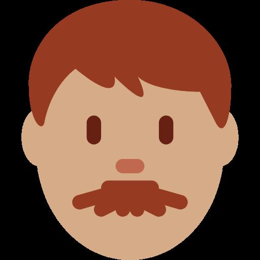 👨🏽 Emoji Man: Medium Skin Tone
