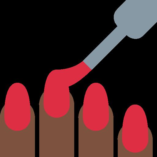 💅🏿 Emoji Nail Polish: Dark Skin Tone