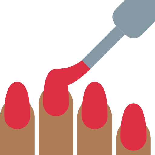 💅🏾 Emoji Nail Polish: Medium-Dark Skin Tone