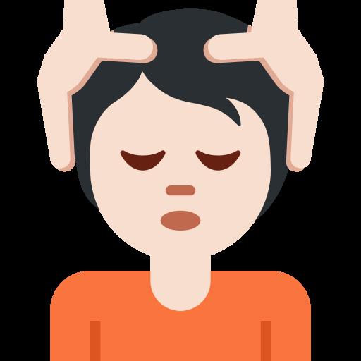 💆🏻 Emoji Person Getting Massage: Light Skin Tone