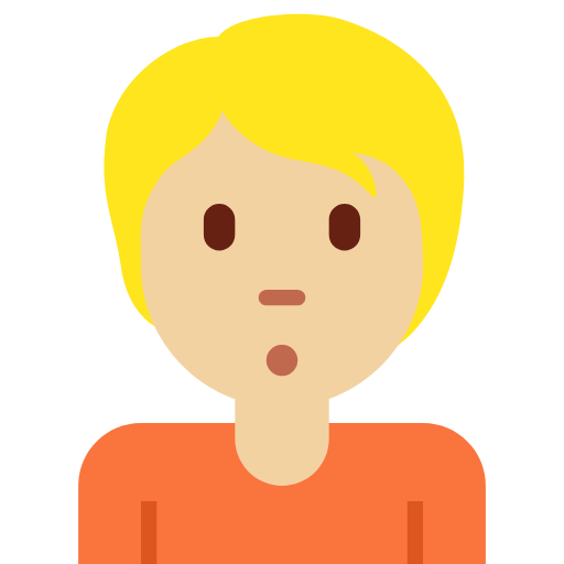 🙎🏼 Emoji Person Pouting: Medium-Light Skin Tone