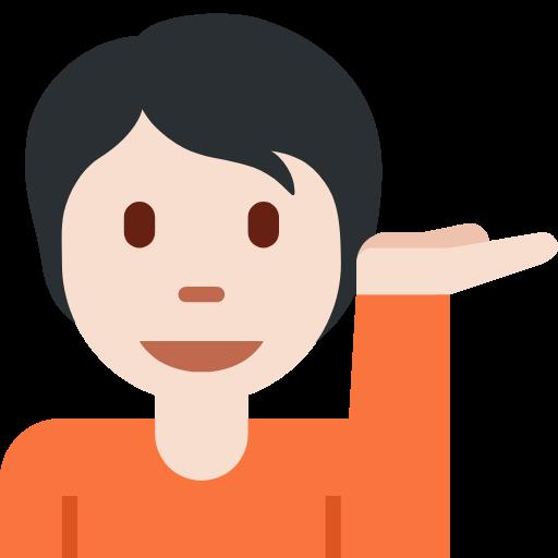 💁🏻 Emoji Person Tipping Hand: Light Skin Tone