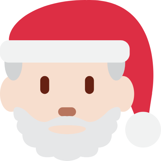 🎅🏻 Emoji Santa Claus: Light Skin Tone