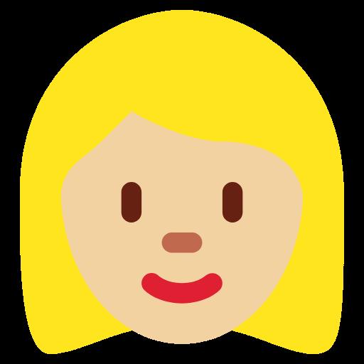👩🏼 Emoji Woman: Medium-Light Skin Tone