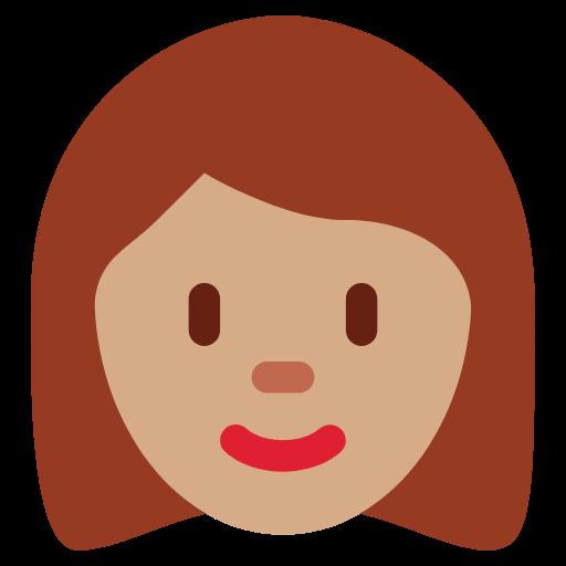 👩🏽 Emoji Woman: Medium Skin Tone